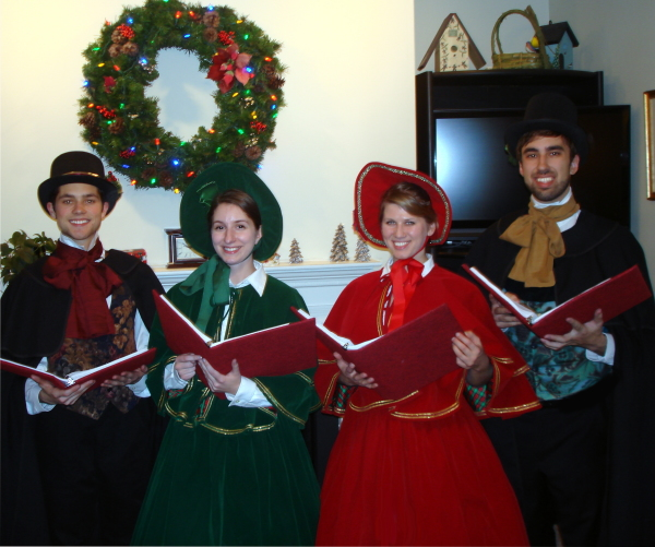 Victorian Carolers - Home