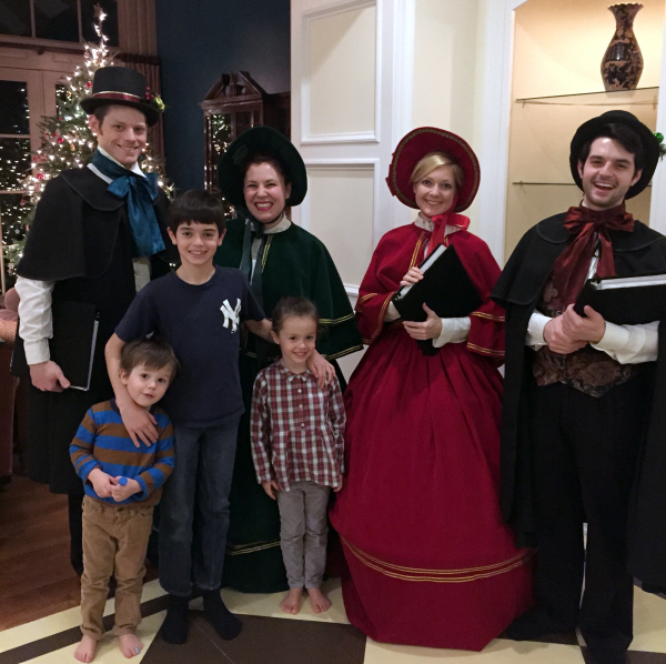 Victorian Carolers - Family Party